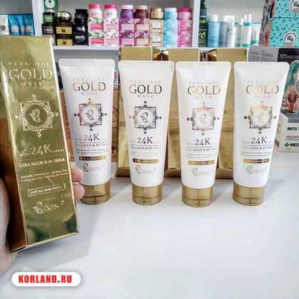 Boon7 Peel Off Gold Mask Collagen & Retinol