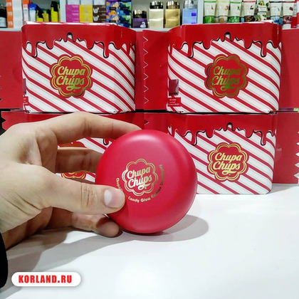 Chupa Chups Candy Glow Cushion Strawberry
