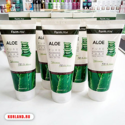 Farmstay Aloe Pure Cleansing Foam