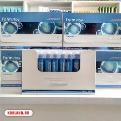 Farmstay Collagen Water Full Moist Treatment Hair Filler (Филер Для Волос)