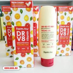 Farmstay Dr V8 Vitamin Brightening Peeling Gel