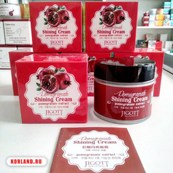 Jigott Pomegranate Shining Cream Pomegranate Extract