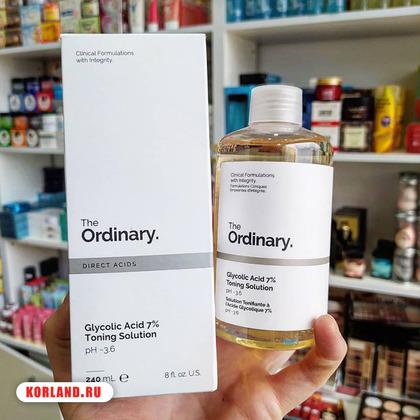 The Ordinary Glycolic Acid 7% Toning Solution  (Тоник с Гликеловой Кислотой)