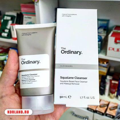 The Ordinary Squalane Cleanser (Бальзам Очищающий)