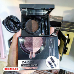 2-Color Cushion Water Eyebrow Powder (Кушон для Бровей)