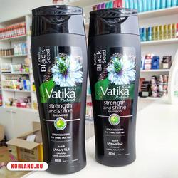Dabur Vatika Black Seed Strength And Shine Shampoo